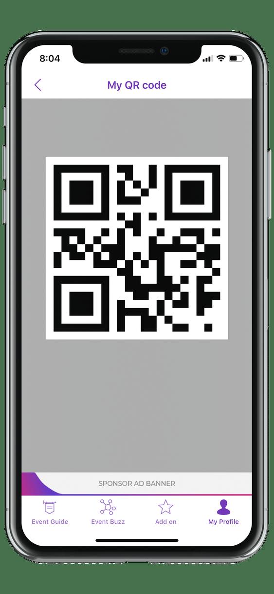 event app QR code