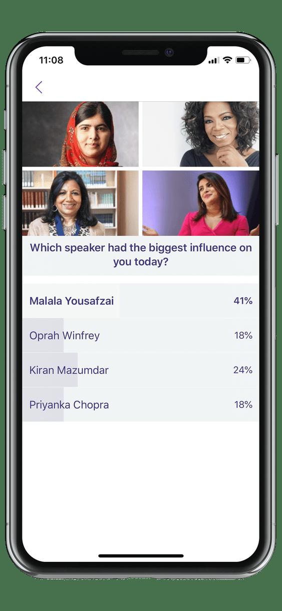 event app poll
