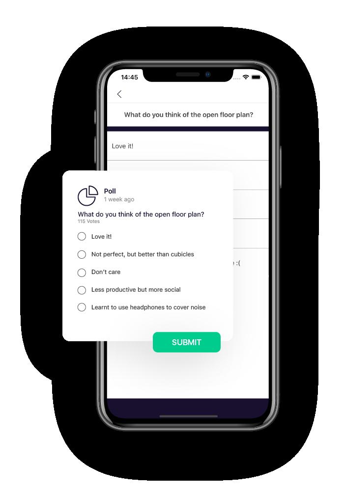 aida employee engagement app polls